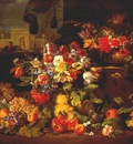 brueghel abraham flowers and fruits in landscape