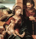 BURGKMAIR Hans Holy Family With Child St John