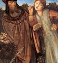 Burne Jones King Mark and La Belle Iseult detail