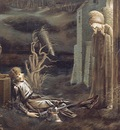 The Dream of Launcelot at the Chapel of the San Graal
