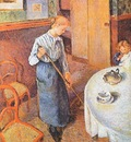 pissarro the little country maid