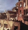 CANALETTO The Stonemasons Yard detail