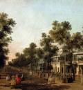 Canal Giovanni Antonio View Of The Grand Walk vauxhall Gardens With The Orchestra Pavilion