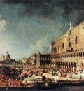 Canaletto Arrival of the French Ambassador in Venice