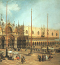 Canaletto Piazza San Marco Looking Southeast