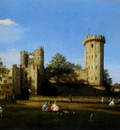 Canaletto The Eastern Facade Of Warwick Castle