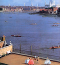Canaletto View on the Thames Sun