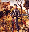 Carpaccio, Vittore Young Knight in a Landscape 1510 end