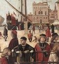 Carpaccio Arrival of the English Ambassadors detail2