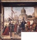 Carpaccio Arrival of the English Ambassadors