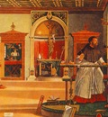 Carpaccio St Augustine in his studio, 1502, 141x210, Oratori
