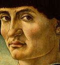 Andrea del Castagno Portrait of a Man, c 1450, Detalj 2, NG