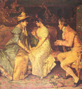 Catala Luis Alvarez 1836 to 1901 The Suitor O C 47 by 62 9cm