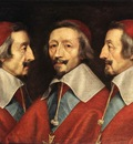 Champaigne Triple Portrait of Richelieu