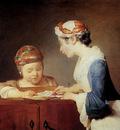 Chardin Jean Baptiste The Teacher