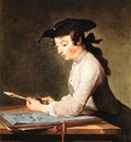 Chardin The Draughtsman