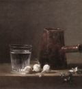 Chardin Water Glass and Jug