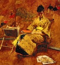 Chase, William Merrit The Kimono end