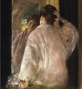 Chase William Merritt Dorothy mirror