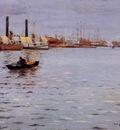 Chase William Merritt The East River