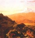 church south american landscape