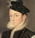 CLOUET Francois Portrait of King Charles IX of France
