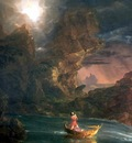 hudson rv sc csg018a the voyage of life manhood thomas cole
