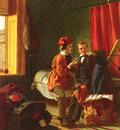 Collinson James British 1825 to 1881 Temptation SnD 1855 53 3 by 42 5cm