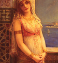 Comerre Leon Francois An Eastern Beauty