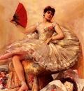 Comerre Leon Francois Portrait Of The Ballerina Rosita Mauri