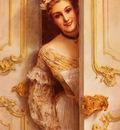 Comerre Leon Francois The Pretty Maid