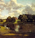 CONSTABLE WIVENHOE PARK, ESSEX, 1816, OIL ON CANVAS