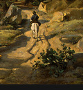 Corot A View near Volterra, 1838, Detalj 2, NG Washington
