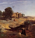 Corot Hagar in the Wilderness