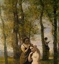 Corot La Toilette Landscape with Figures , 1859, Private co
