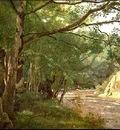 Corot Ravine in the Morvan, Near Lormes, 1860, High Museum o