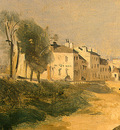 Corot River Scene with Bridge, 1834, Detalj 1, NG Washington