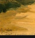 Corot River Scene with Bridge, 1834, Detalj 3, NG Washington