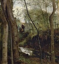 Corot Stream in the Woods aka Un ruisseau sous bois