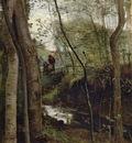Corot Stream in the Woods aka Un ruisseau sous bois