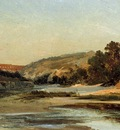 Corot The Aqueduct in the Valley