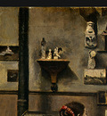 Corot The Artists Studio, c  1855 1860, Detalj 1, NG Washin