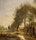 Corot The Sin le Noble Road near Douai, 1873, Louvre