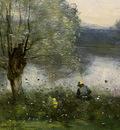 Corot Ville dAvray, c  1867 1870, Detalj 4, NG Washington
