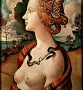 Piero di Cosimo Portrait of a young woman, Musee Conde, Chan