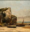 Courbet Beach in Normandy, 1872 1875, NG Washington