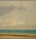 Courbet Calm Sea, 1866, NG Washington