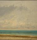 Courbet Calm Sea, 1866, NG Washington