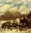 Courbet Gustave Marine A Etretat