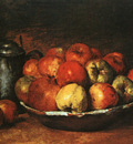 Courbet Still Life with Apples and Pomegranates, The Nationa